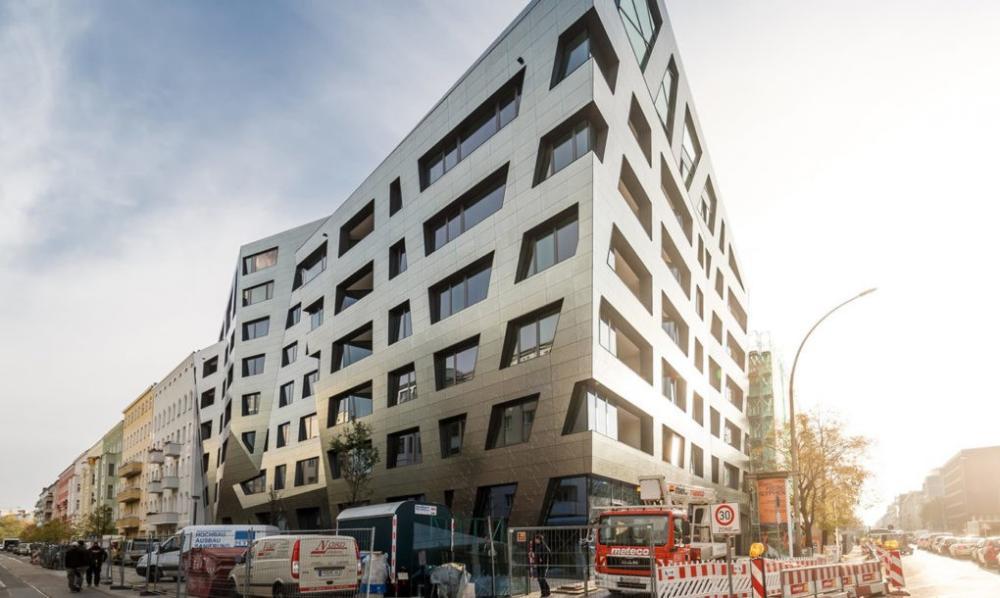 Độc đáo tòa nhà có khả năng thanh lọc không khí ở Berlin