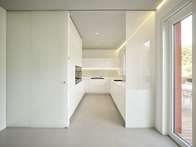 tông màu trong bếp