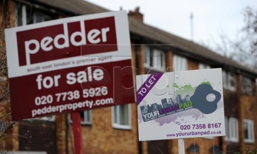 Giá nhà tại Anh tăng