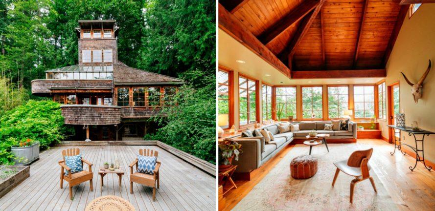 Ngôi nhà giữa rừng