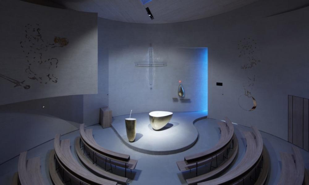 Thiết kế nhà thờ hình trụ