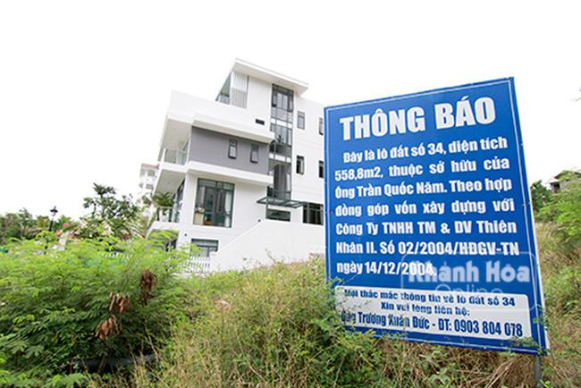 khu biệt thự cao cấp Ocean View Nha Trang