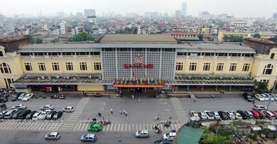Đề xuất chiều cao công trình tại khu vực ga Hà Nội từ 40-70 tầng