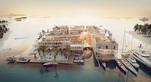 Dubai sẽ xây thành phố nổi Venice trên biển Ả Rập