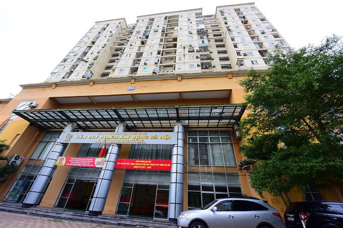 Viện Quy hoạch xây dựng Hà Nội