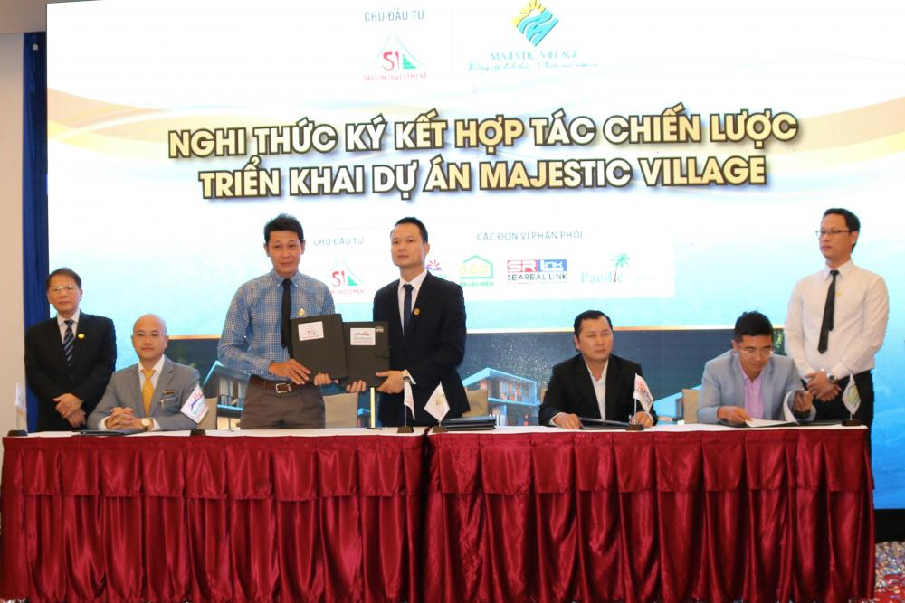 Lễ ký kết hợp tác chiến lược triển khai dự án Majestic Village