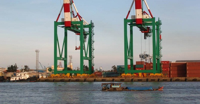 Bến cảng Tân Thuận