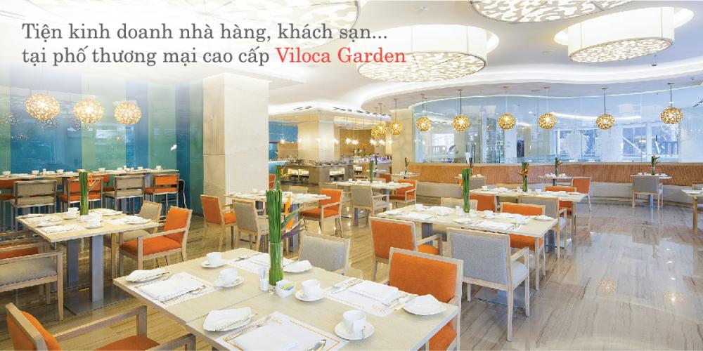Phố thương mại Viloca Garden