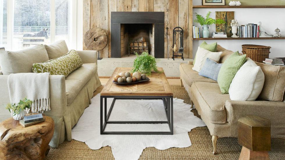 Bố trí nội thất phòng khách ấm áp trong tiết trời se lạnh - Ảnh minh hoạ 5