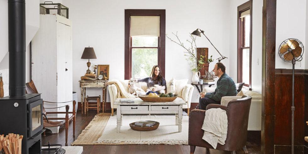 Bố trí nội thất phòng khách ấm áp trong tiết trời se lạnh - Ảnh minh hoạ 10