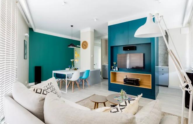 màu sơn cho phòng khách nhỏ