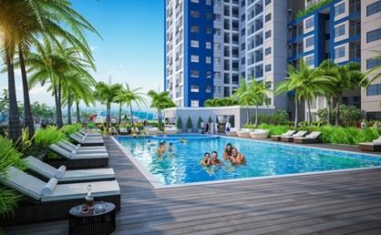 Bể bơi trên không Sky Pool