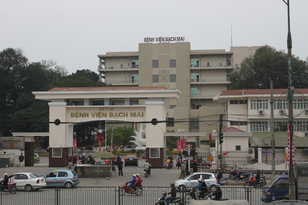 Quy hoạch chi tiết bệnh viện Bạch Mai trên khu đất 13,81 ha