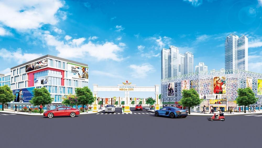 Phối cảnh khu đô thị Mega City
