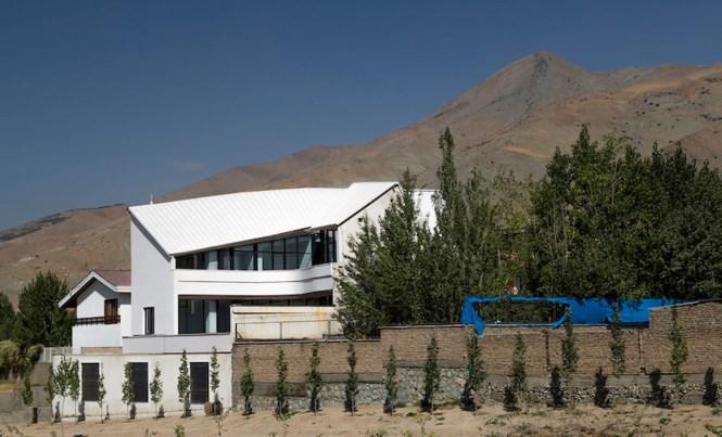 Vẻ đẹp bắt mắt của ngôi nhà có cấu trúc hình chữ A