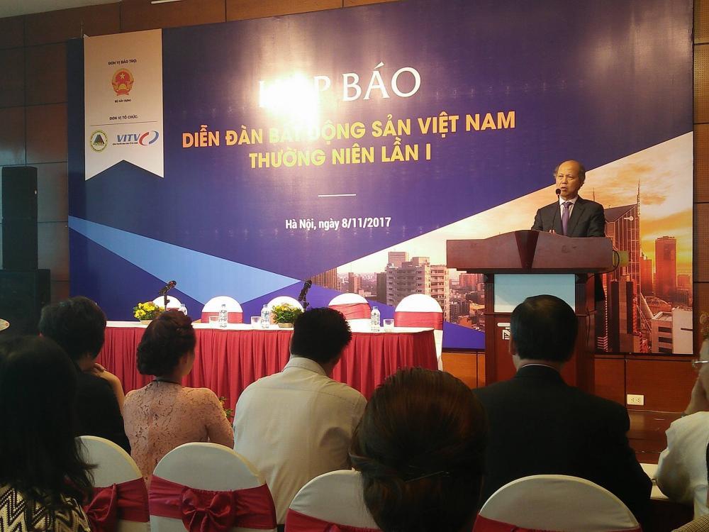 Nhiều vấn đề lớn sẽ được thảo luận tại diễn đàn bất động sản Việt Nam