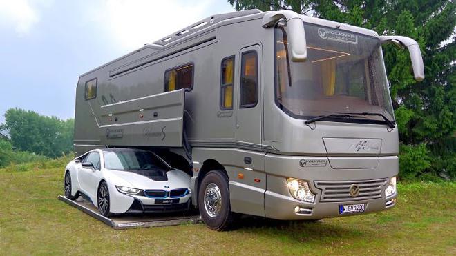 Căn hộ hạng sang được thiết kế từ chiếc ô tô 12m