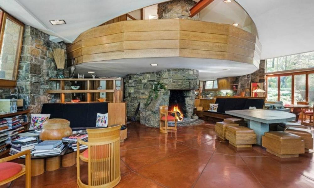 Thăm ngôi nhà hình nấm do KTS vĩ đại Frank Lloyd Wright thiết kế