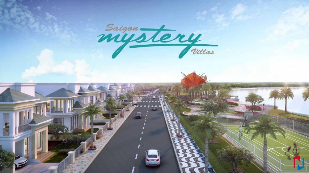 SaiGon Mystery Villas: Khu biệt thự compound bên sông Sài Gòn