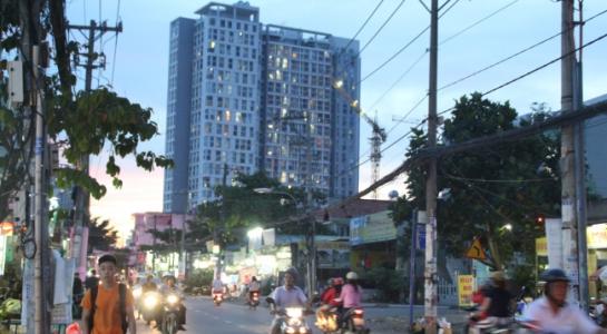 Các trục giao thông chính ở khu Đông được ưu tiên xây cao ốc