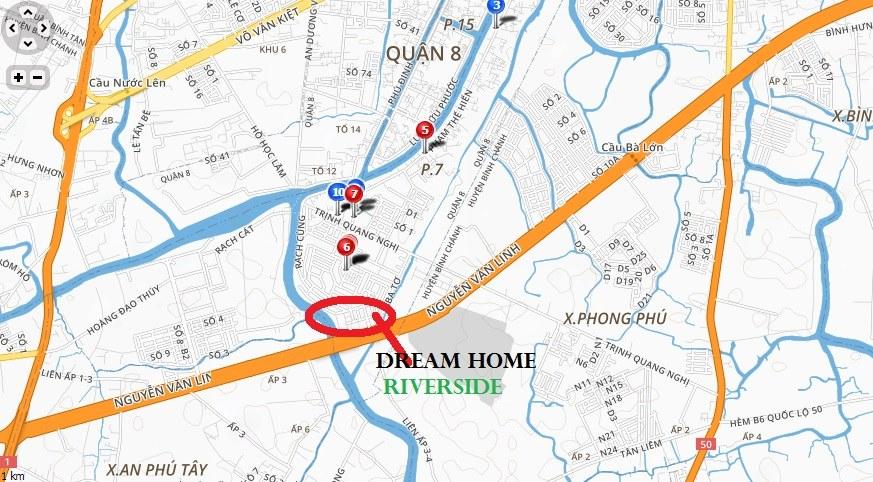 vị trí Dream Home Riverside