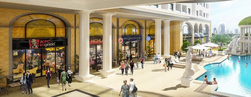 trung tâm thương mại tại Dream Home Riverside