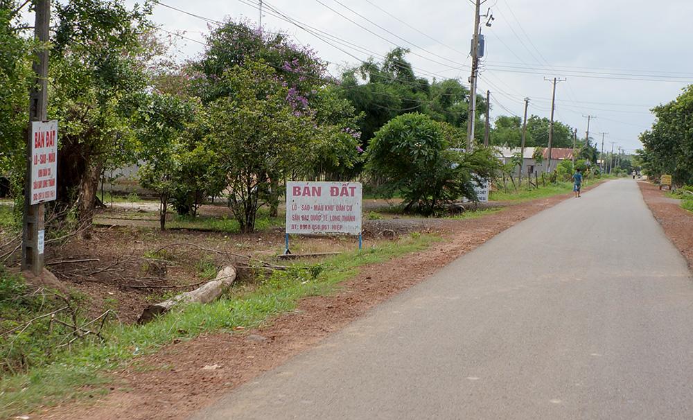 quản lý đất đai quanh sân bay Long Thành