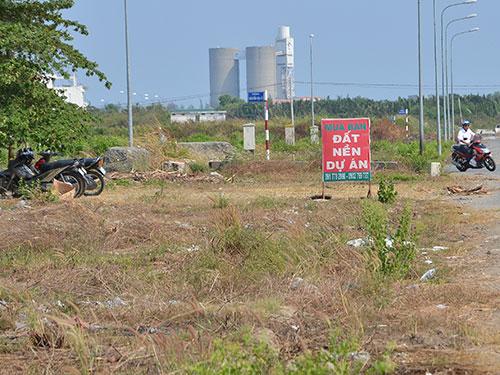 rao bán đất trái phép ở quận 12