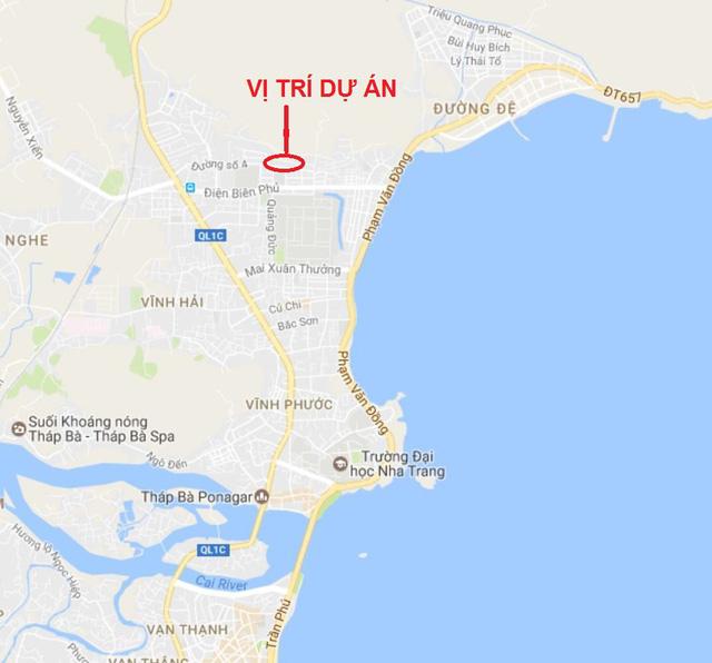 vị trí nhà ở xã hội Bình Phú 2
