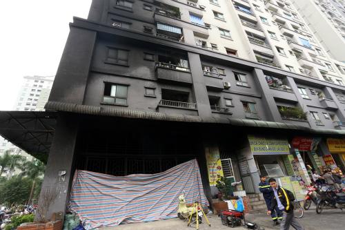 chung cư vi phạm phòng cháy chữa cháy