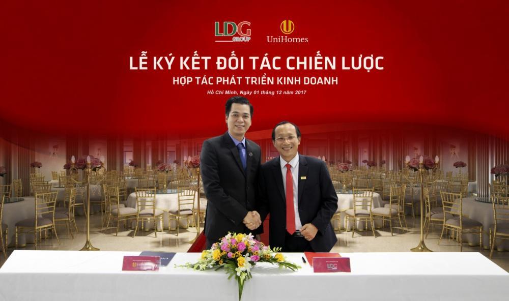 Lễ ký kết Hợp tác giữa LDG Group và Unihomes