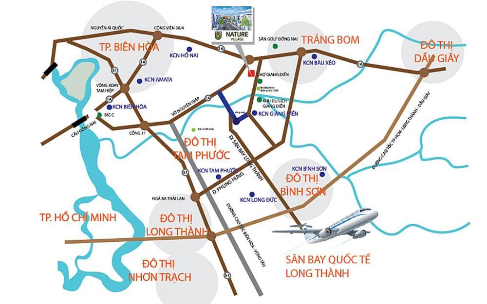 liên kết vùng Nature Village Đồng Nai