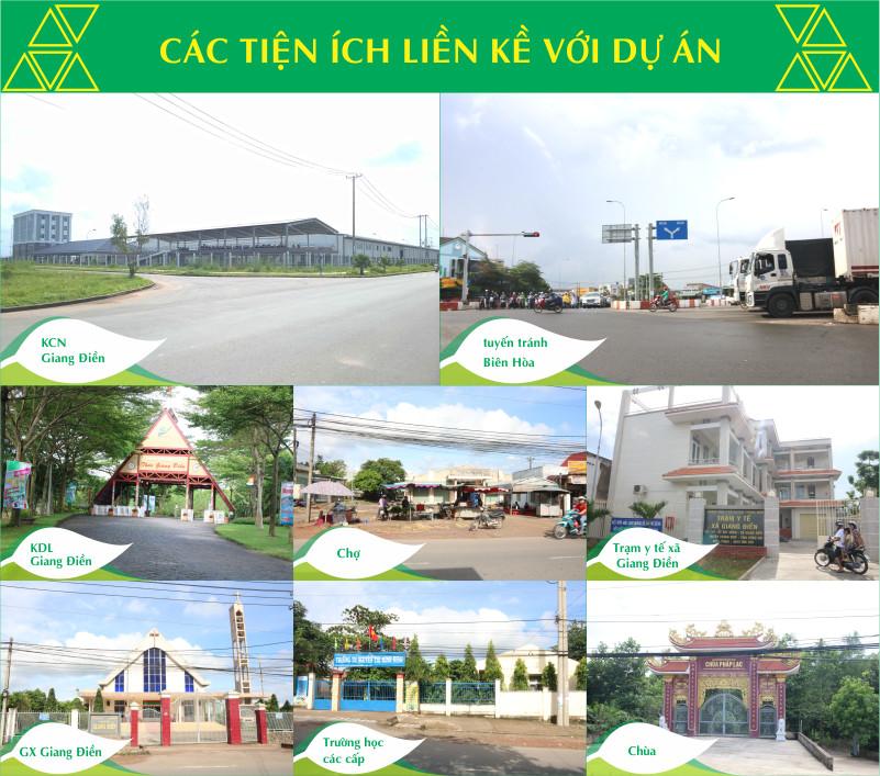 Tiện ích ngoại khu Nature Village Đồng Nai