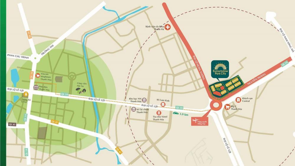 vị trí Eurowindow Park City