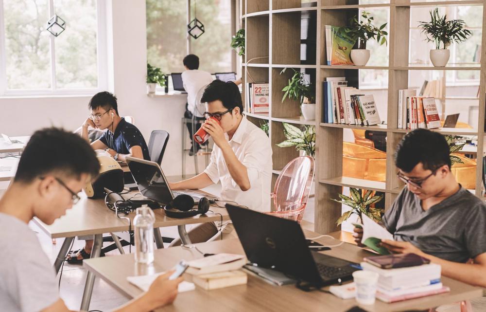 Bùng nổ văn phòng cho thuê mô hình co-working