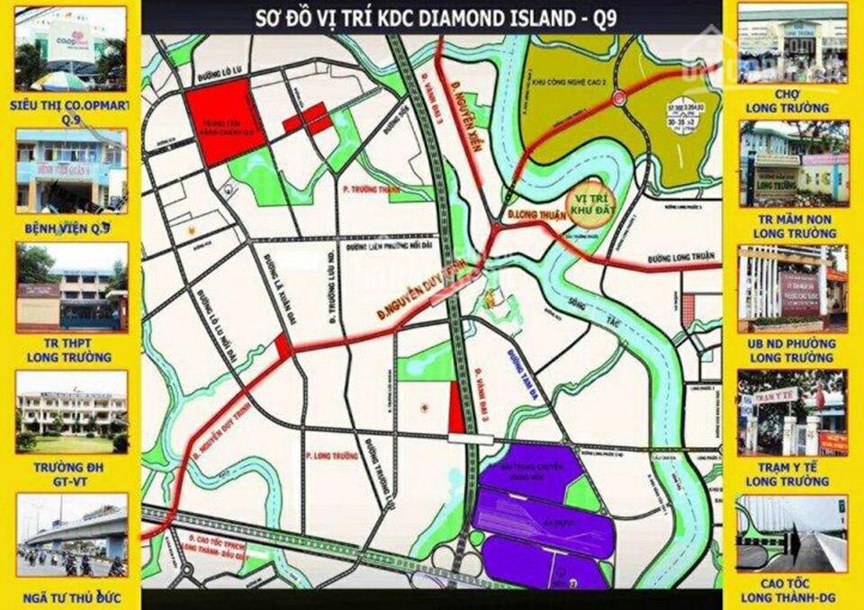 tiện ích Diamond Island quận 9