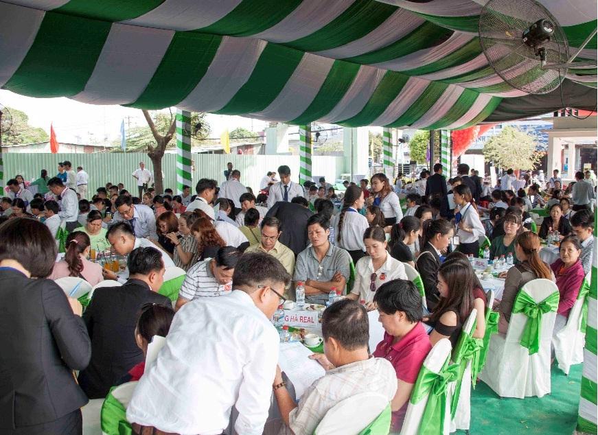 lễ Mở bán Block C Căn hộ Hồ Sinh Thái – Hiệp Thành Buildings
