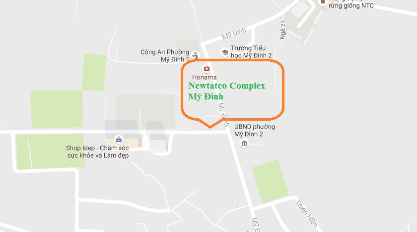 vị trí Newtatco Complex