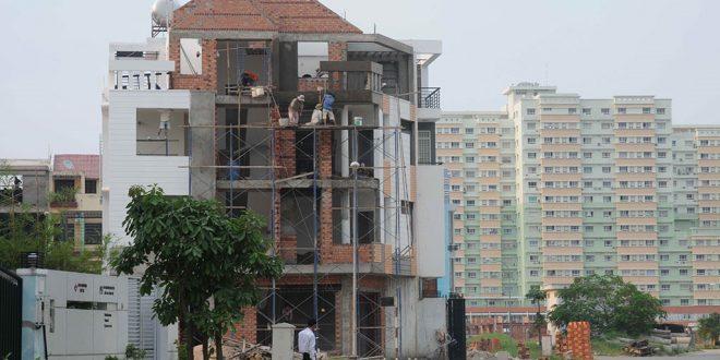 Xây nhà ở riêng lẻ trong đô thị