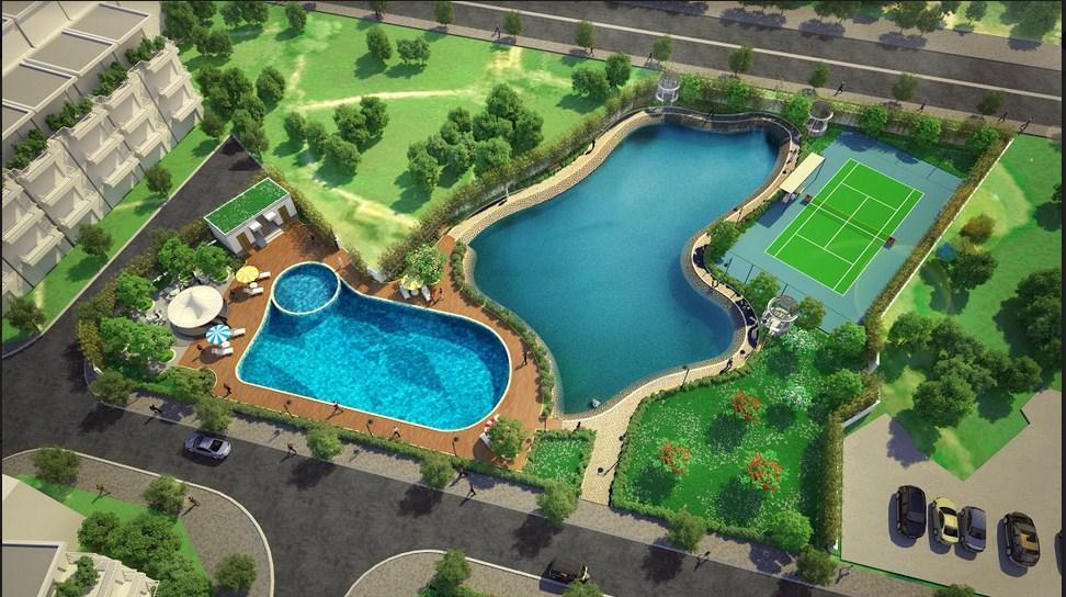 Khu bể bơi ngoài trời