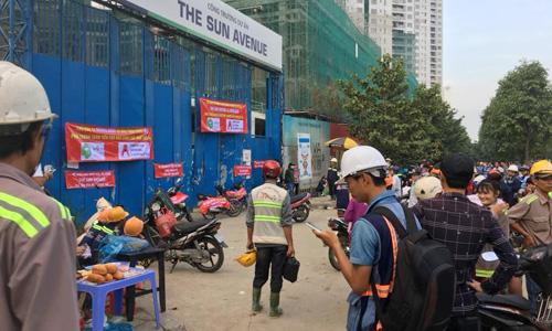 Chủ nợ bủa vây dự án khu căn hộ ở Sài Gòn