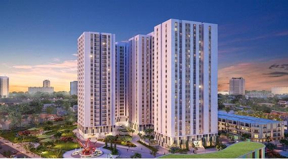 Phối cảnh dự án căn hộ Vĩnh Lộc