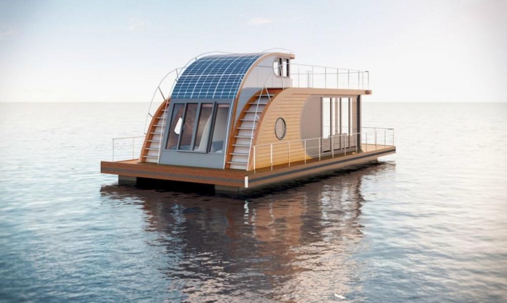 Thăm ngôi nhà thuyền xinh xắn khiến nhiều người ao ước