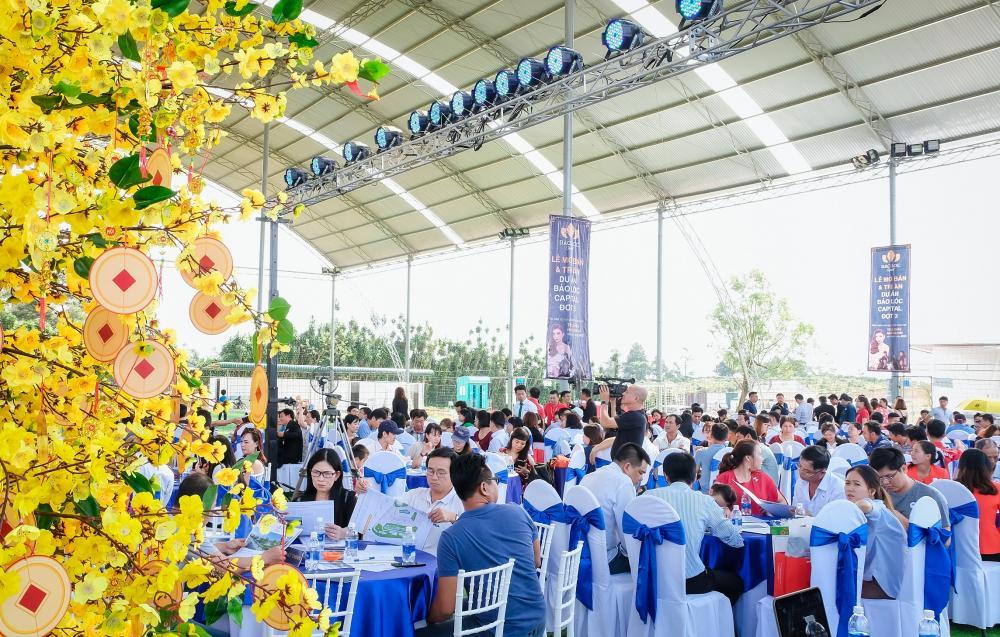Hơn 300 khách hàng tham dự lễ mở bán Bảo Lộc Capital giai đoạn 3 2