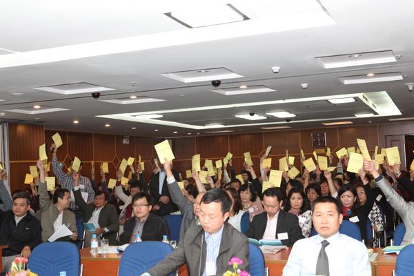 hội nghị của tòa nhà chung cư