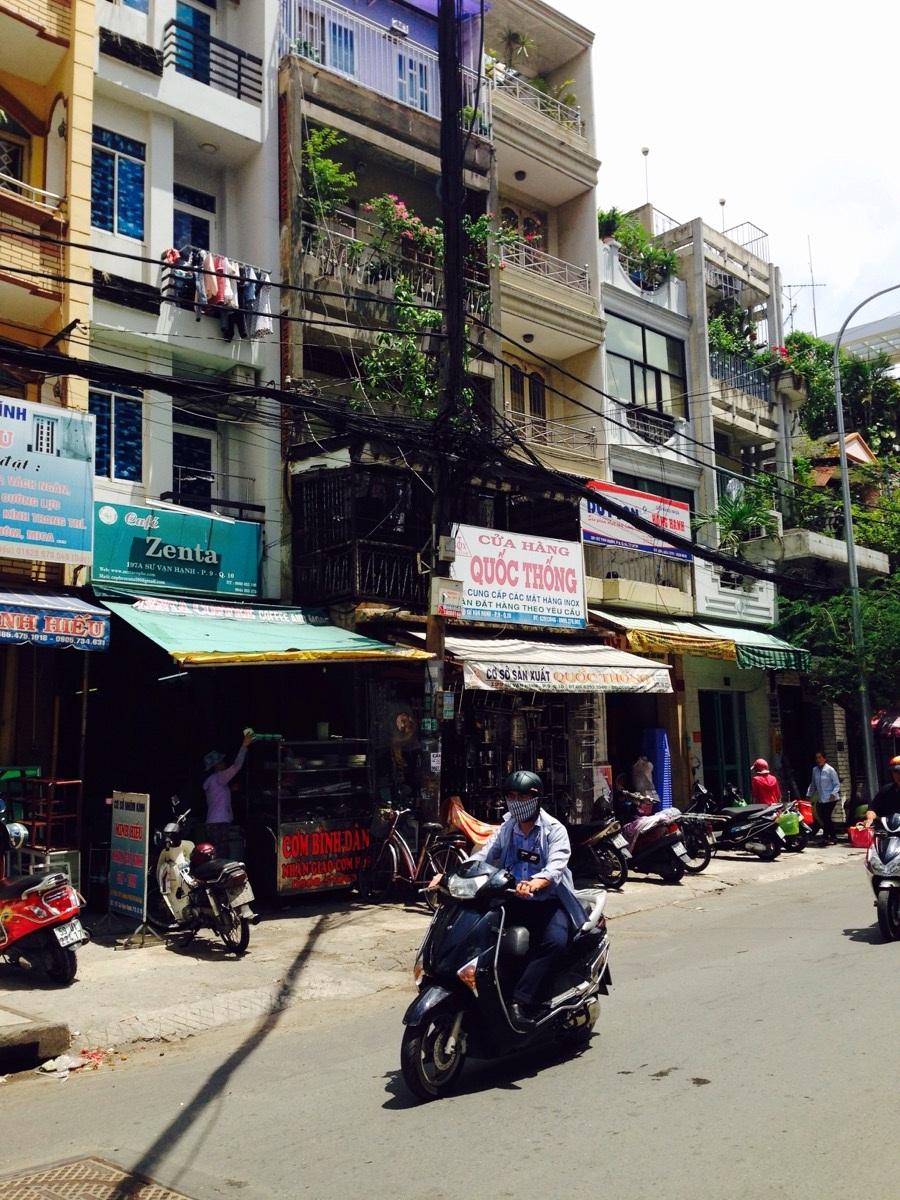 nhà lẻ nhà phố trung tâm Sài Gòn