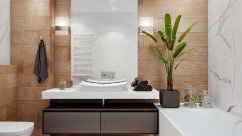 phong thủy tốt cho phòng tắm