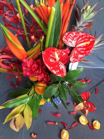 hoa trái nhiệt đới