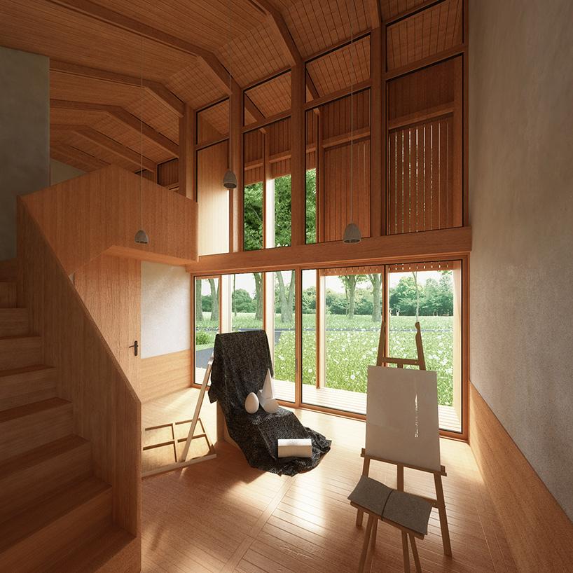 Ngôi nhà độc đáo với cây xanh phủ kín mái 6