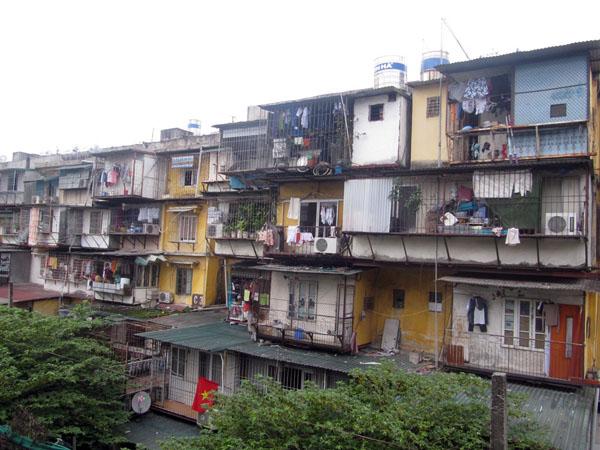 Cải tạo chung cư cũ